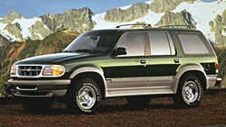Second Generation Ford Explorer 1995 - 2001