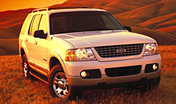 Third generation Ford Explorer 2002 - 2005