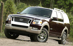 Fourth generation Ford Explorer 2006 - 2010