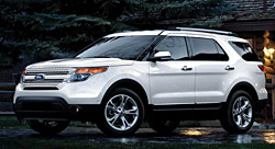 Fifth generation Ford Explorer 2011 - current