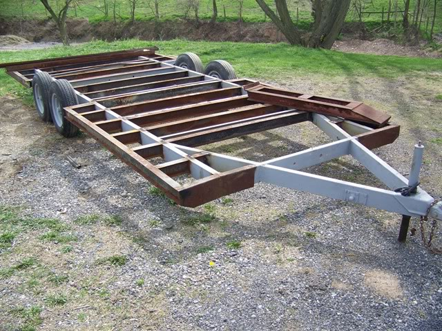 Yostyexplorer94 39 s camper frame trailer build ford for How to build a trailer plans free
