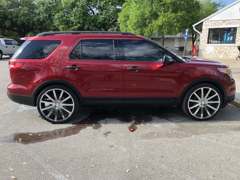 24 Inch Rims Ford Explorer And Ford Ranger Forums Serious Explorations