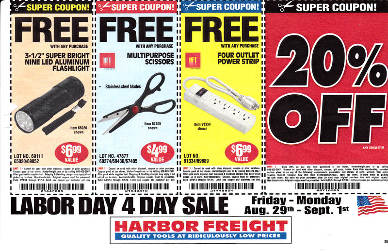 Harbor freight coupons which are good until january 21 2015 harbor freight coupons for 8 29 14 to 9 1 14 sciox Image collections