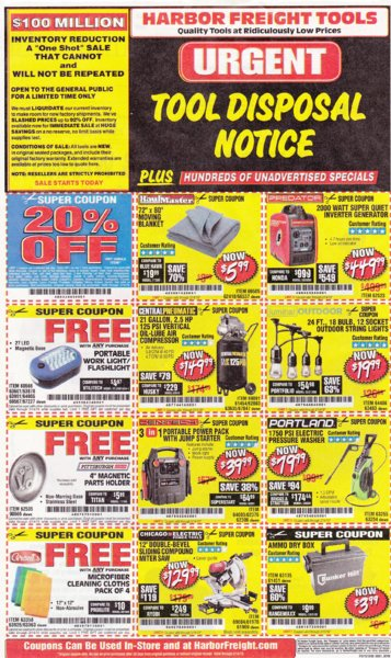 Harbor Freight coupons which are good until 2-14-2019..jpg