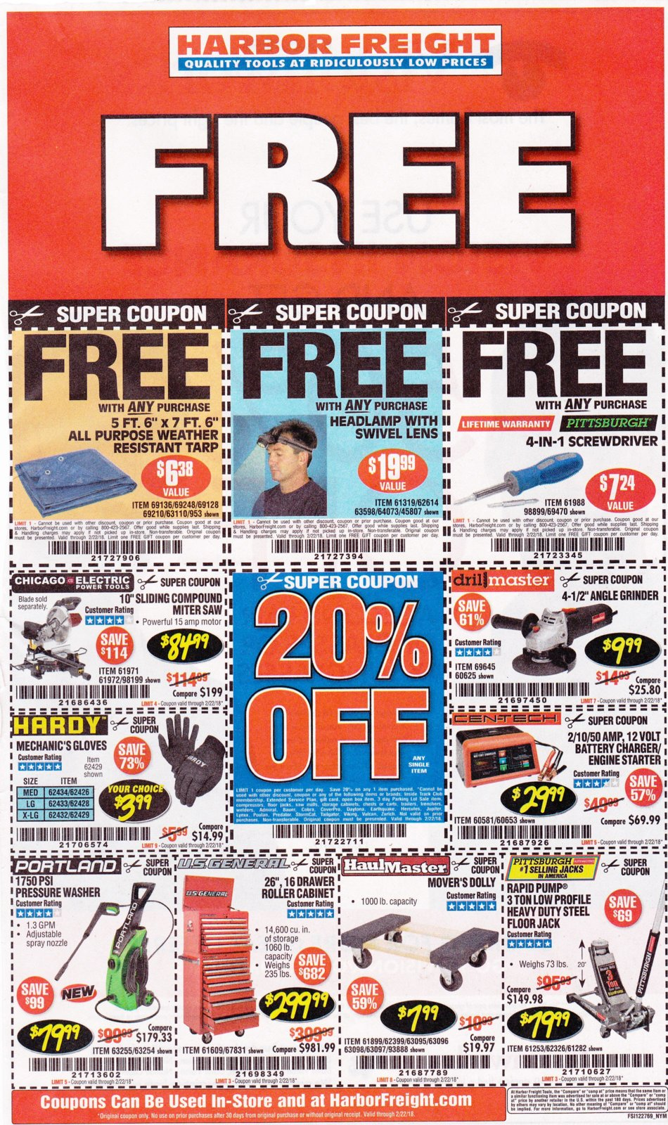 Harbor Freight coupons which are good until 2-22-2018..jpg