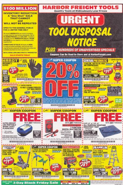 Harbor Freight coupons which are good until 3-4-2019..jpg