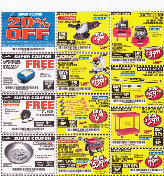 Harbor Freight coupons which are good until 7-17-2019..jpg