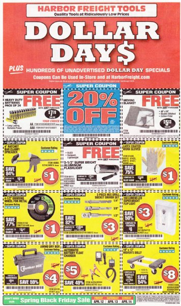 Harbor Freight coupons which are good until 7-24-2019..jpg