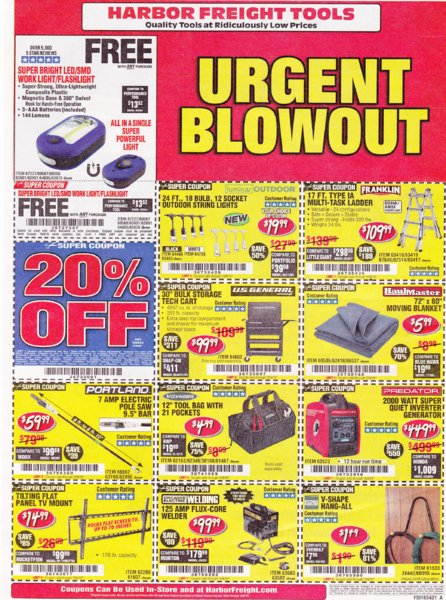 Harbor Freight coupons which expire on 10-9-2019..jpg