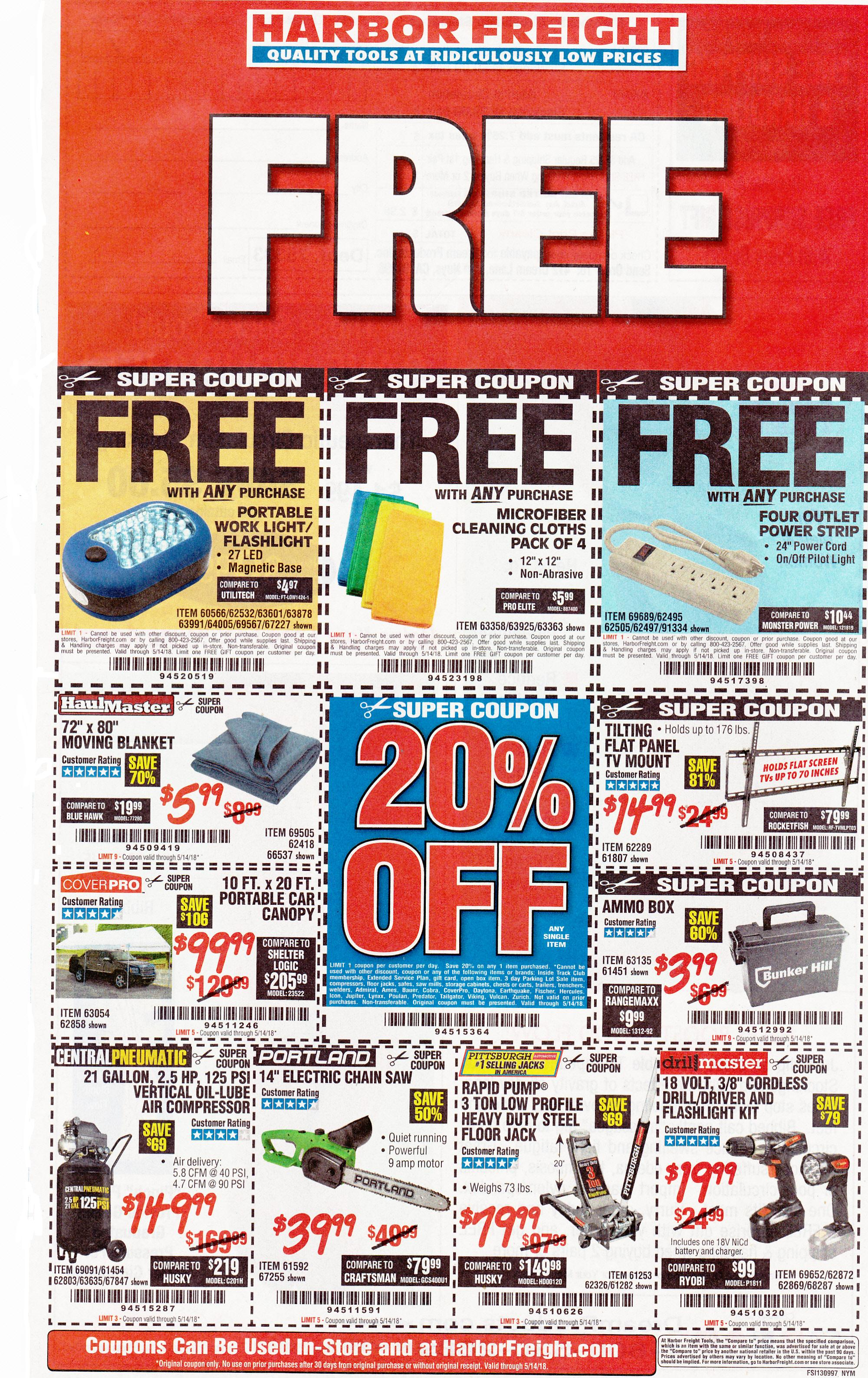 Harbor Freight coupons which expire on 5-14-2018..jpg