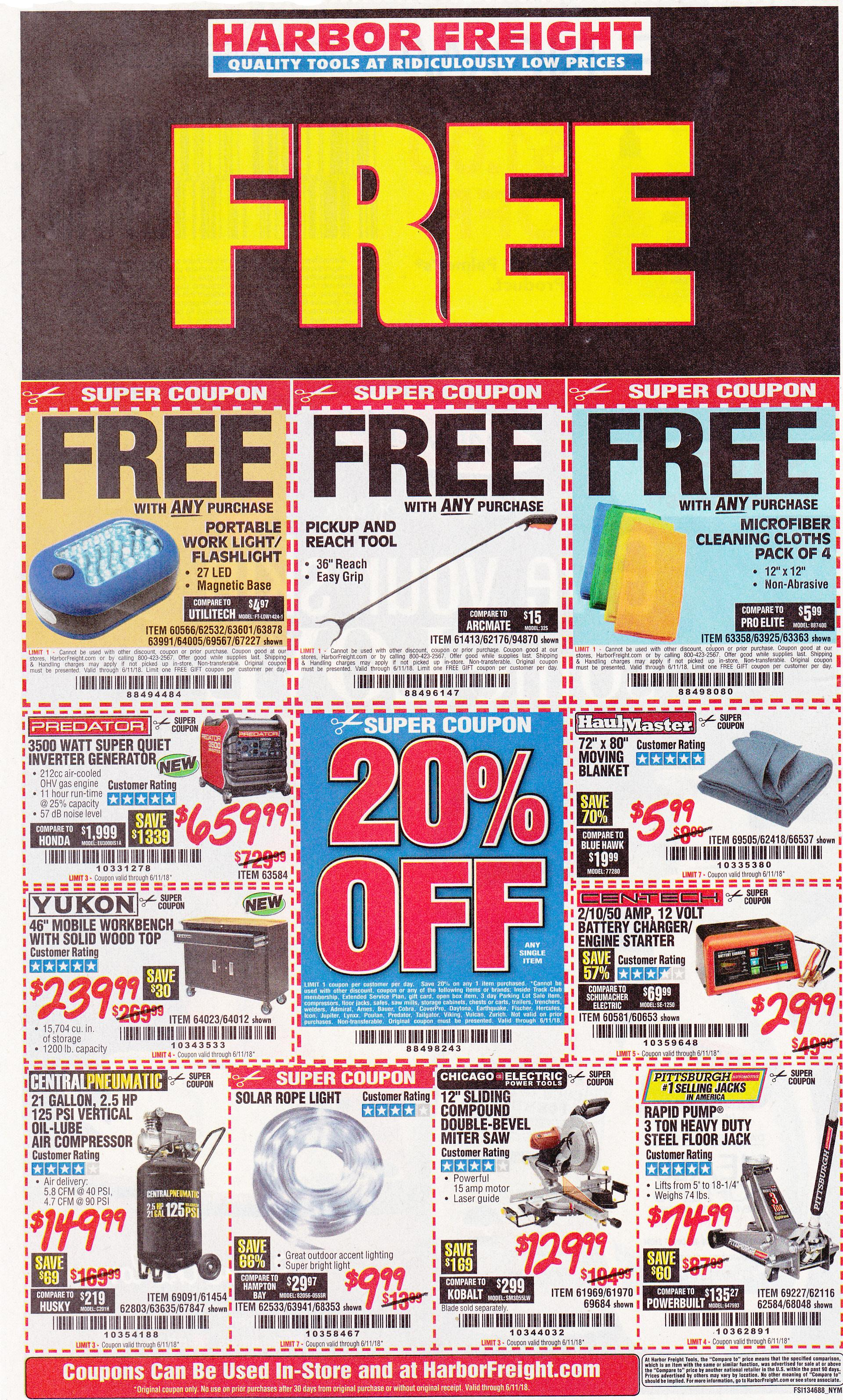 Harbor Freight coupons which expire on 6-11-2018..jpg