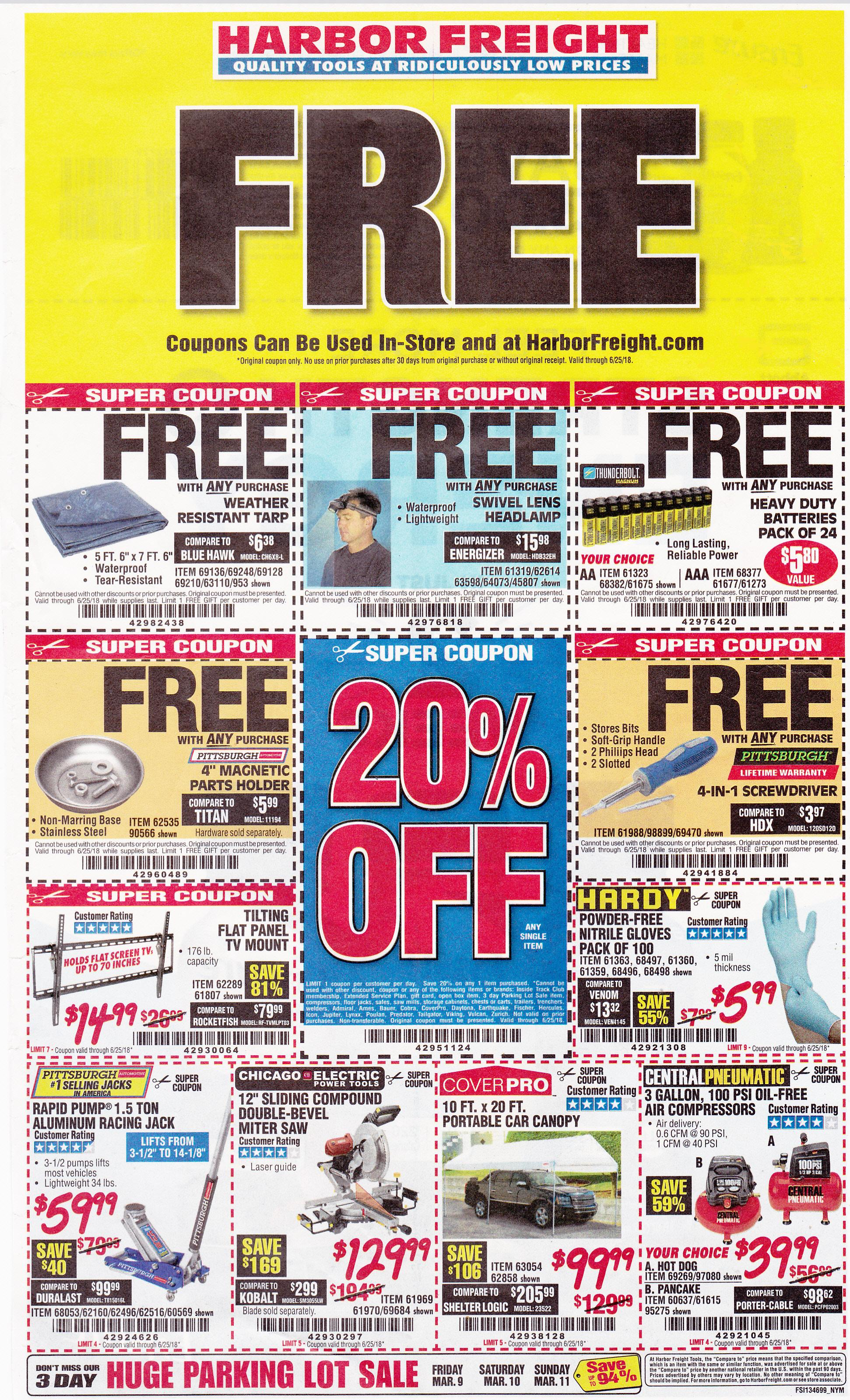 Harbor Freight coupons which expire on 6-25-2018..jpg