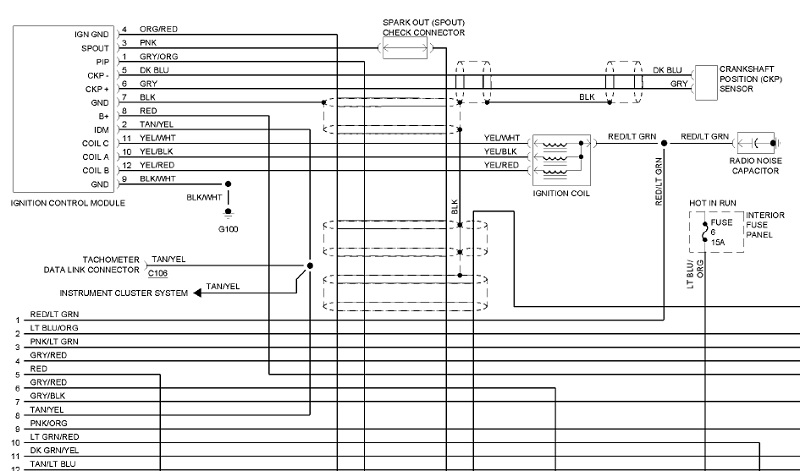 89 ford ranger radio wiring diagram 1994 ford ranger radio wiring diagram #11