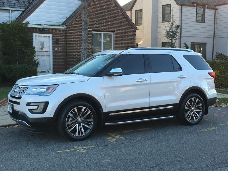 2016 Platinum Late Production Page 29 Ford Explorer