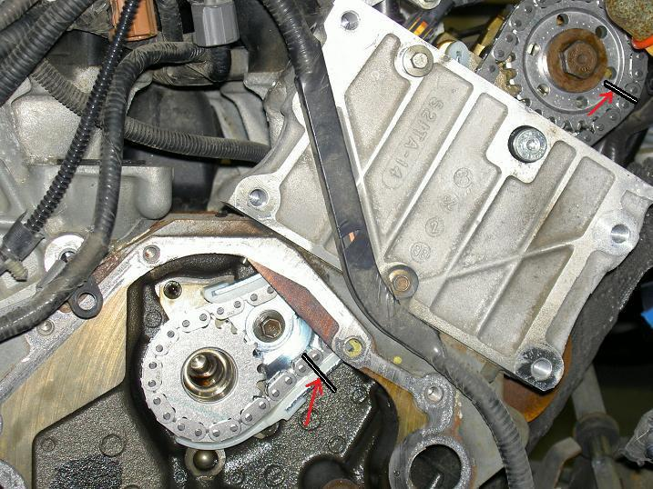 : - SOHC V6 Timing Chain Inspection & Repair | Ford Explorer ...