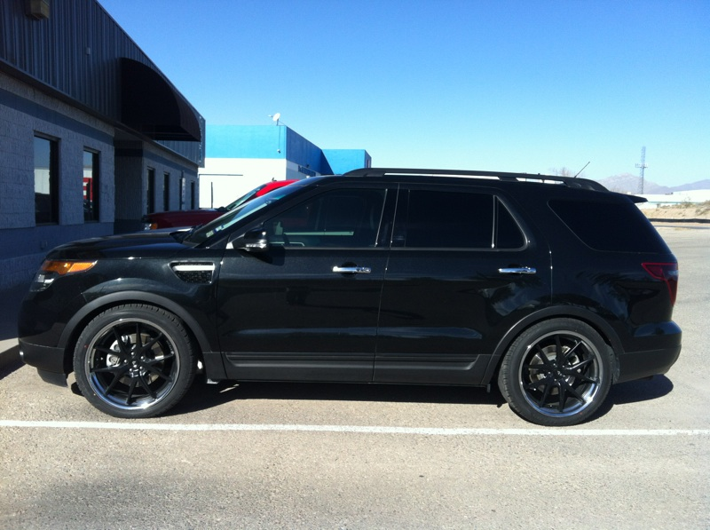 Blacked Out Explorer >> Adding Fender Vents | Ford Explorer and Ford Ranger Forums - Serious Explorations