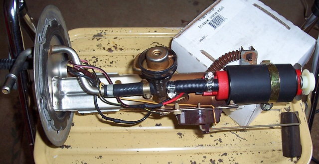 Fuel pump replacement  2000 Explorer Sport  Ford Explorer and