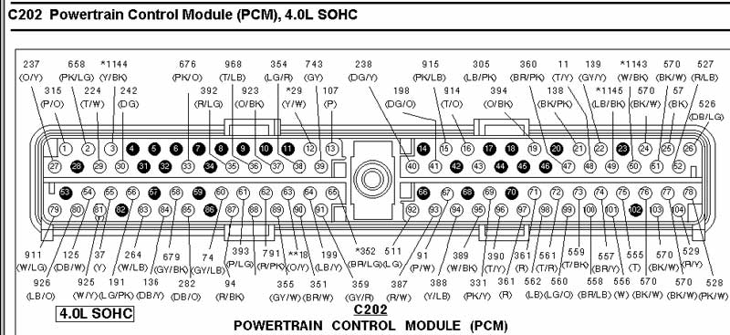 2006 ford explorer pcm wiring diagram wiring diagram and 2006 ford ranger wiring schematic at edmiracle.co