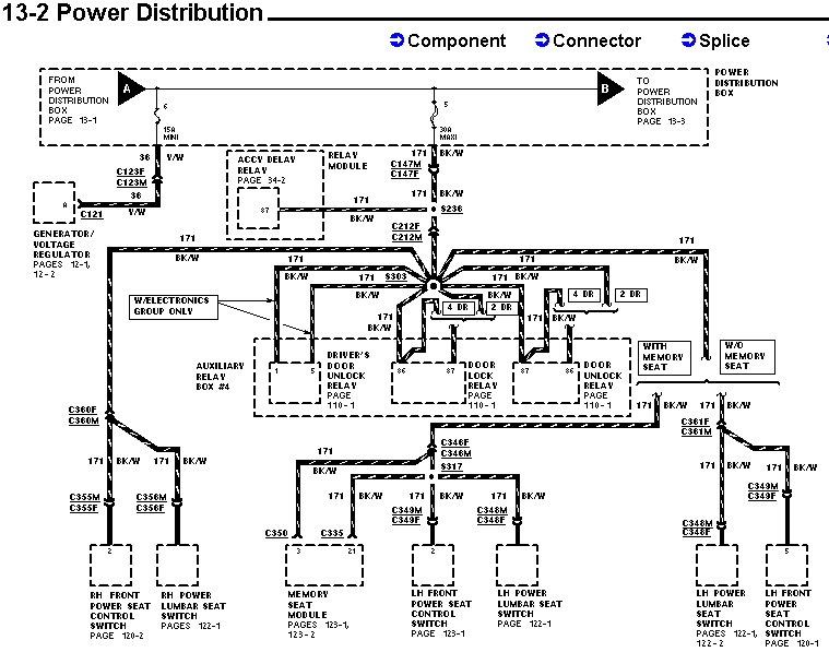 door lock wiring diagram ford explorer and ford ranger forums wiring diagram for 2002 ford ranger at mifinder.co