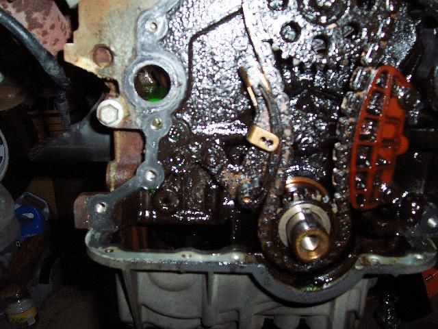 How To Sohc V6 Timing Chain Parts Removal Procedure