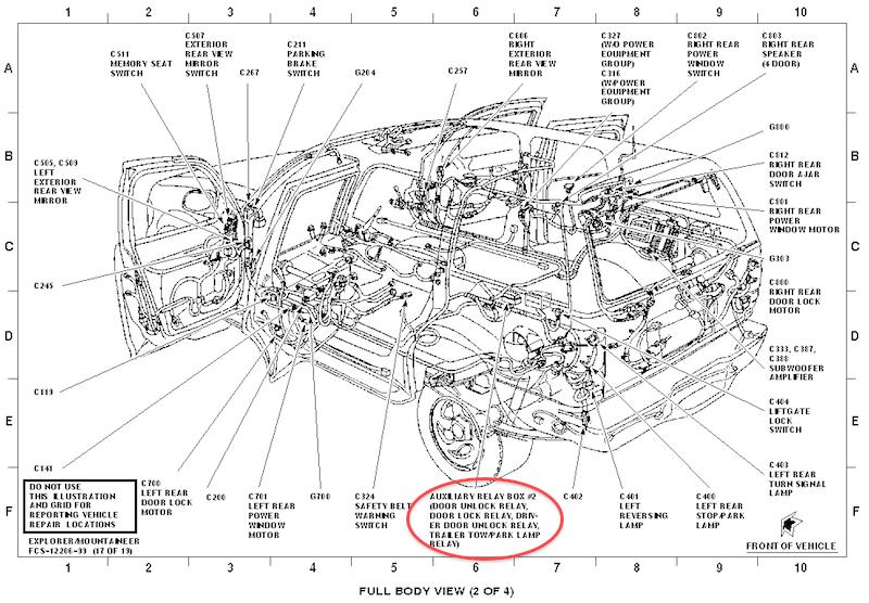 1999 Mountaineer Auxiliary Fuse Box Diagram Ford Explorer Ford Ranger Forums Serious Explorations