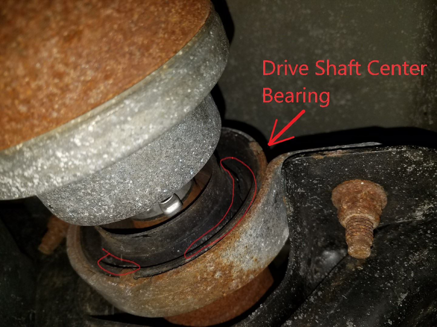 Drive Shaft Center Bearing Ford Explorer And Ford Ranger Forums
