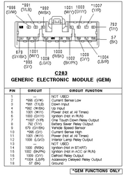 Ford Gem Wiring Diagram - Electrical Wiring Diagram Guide