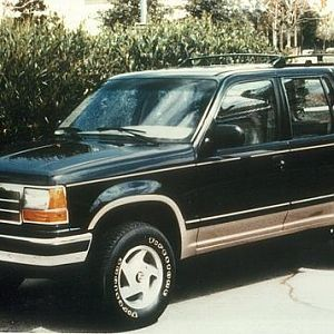 First Ford Explorer