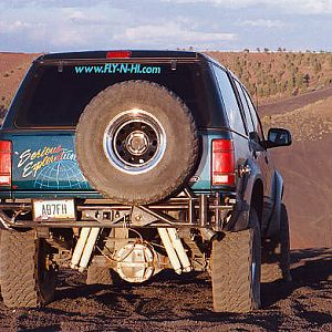 Rick's Explorer at Cinders OHV area Flagstaff