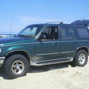 Passenger Side on Beach