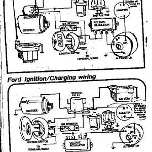 GM & Ford charging & starting wiring diagrams.