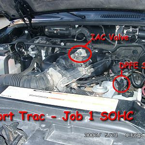 Under the hood Job 1 SOHC