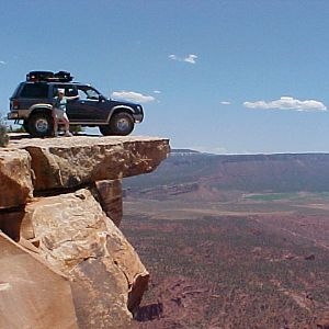 Ashli at the Top of the world, Moab, UT