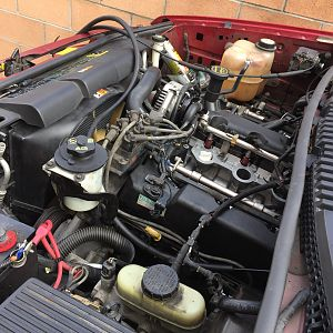 Radiator and Fuel Injection