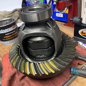 Dana 30 - Lunchbox Lockers and Re-Gearing