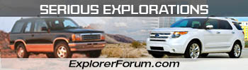 Ford Explorer and Ranger Forums - Serious Explorations