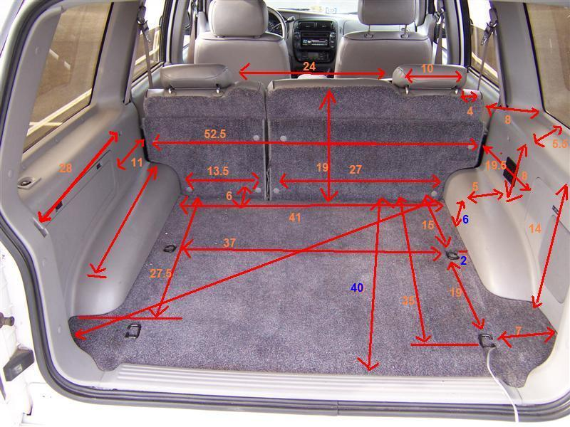 Useful Dr Dr Cargo Area Measurements Pics Ford Explorer And