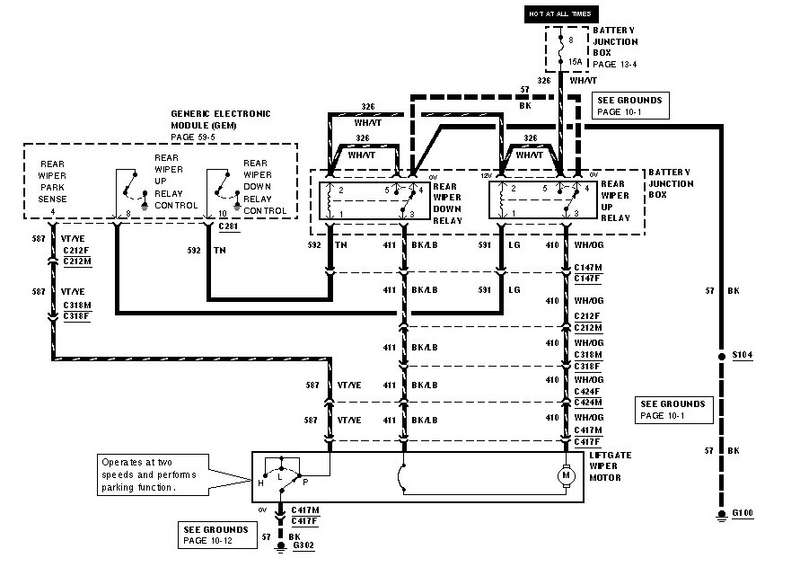 a challenge for you electrical guru s ford explorer and ford rh explorerforum com 2004 Ford Explorer Wiring Diagram 1995 Ford Explorer Wiring Diagram