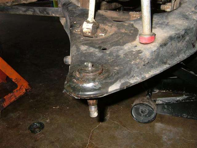 Lower ball joint replacement how to lots of pictures ford img publicscrutiny Image collections