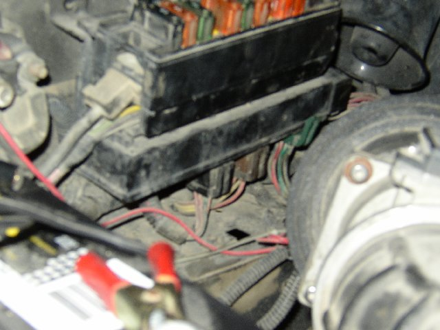 how to change a fuel pump relay x ford explorer and ford on mine i had to remove the plug in the back directly under my fuel pump relay fuse
