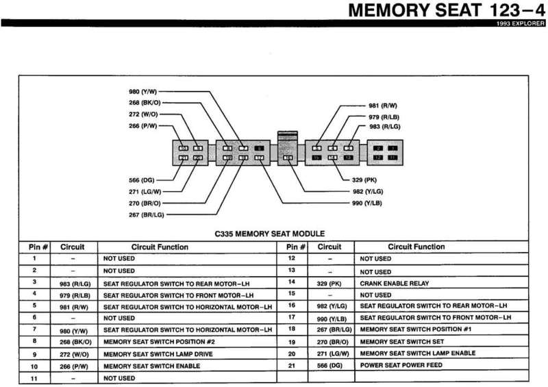 everything you wanted to know about memory seats ford module programmable memory seat explorer limited edition