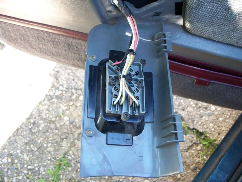 how to troubleshoot repair defective power door lock wiring on the 4 screws have to be removed to pop the switches out the inner panels have to be removed near the fuse block this is the fuse block the separate