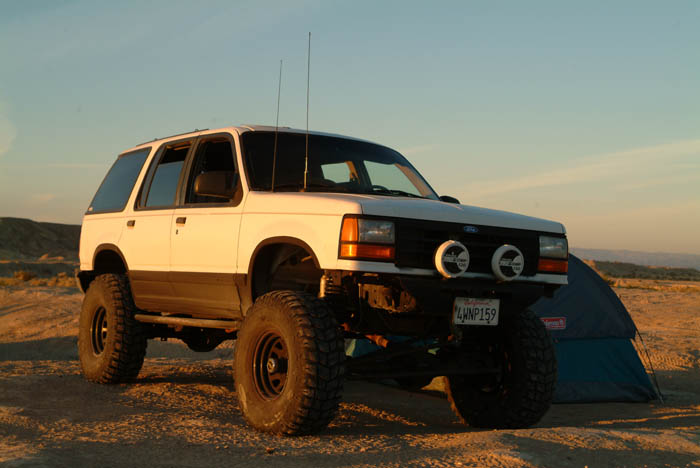 pics of 1st gen on 35s please   Ford Explorer and Ford ...